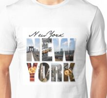 New York Scenes Unisex T-Shirt