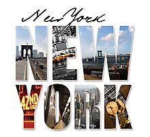 New York Scenes Photographic Print