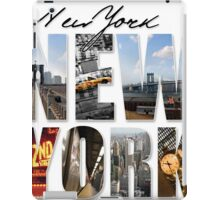 New York Scenes iPad Case/Skin