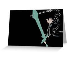 KIRITO!!! Greeting Card