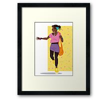 May The 80's Be With You Framed Print