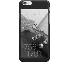 mozart lifetime iPhone Case/Skin
