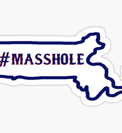 Masshole Sticker