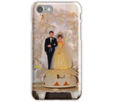 Vintage Wedding  iPhone Case/Skin