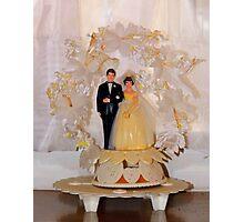 Vintage Wedding  Photographic Print