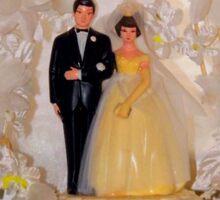 Vintage Wedding  Sticker