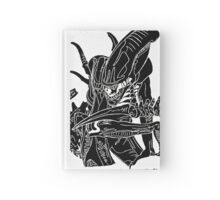 Pandora Fox Art Alien Xenomorph Inverted Version! :)  Hardcover Journal