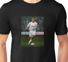 Zidane at Real Madrid Painting Unisex T-Shirt