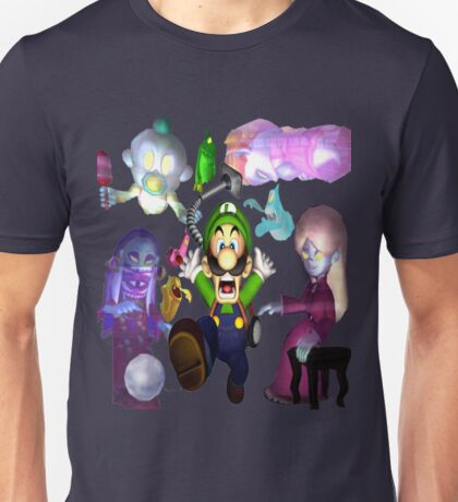 Luigi's Mansion  Unisex T-Shirt