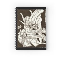 Pandora Fox Art Alien Xenomorph! :D  Spiral Notebook