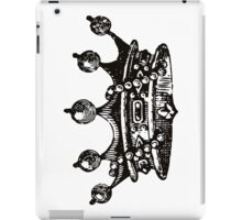 Royal Crown | Black & White iPad Case/Skin