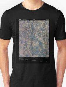 USGS TOPO Map Alabama AL Fisk 20100426 TM Inverted T-Shirt