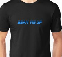 Beam Me Up - T-Shirt Sticker Unisex T-Shirt