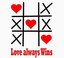 LOVE ALWAYS WINS/ Clothing+Products Design Womens Fitted T-Shirt
