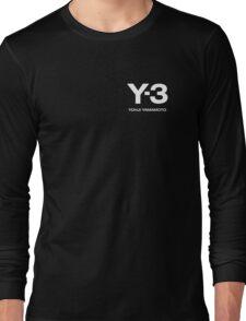 Y3 YOHJI YAMAMOTO Long Sleeve T-Shirt