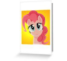Pinkie Pie smiling Greeting Card
