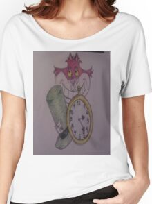 chesire cat in wonderland Women's Relaxed Fit T-Shirt
