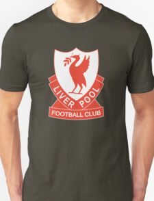 LIVERPOOL OLD LOGO crest badge vintage retro Unisex T-Shirt