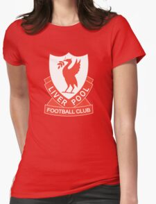 LIVERPOOL OLD LOGO crest badge vintage retro Womens Fitted T-Shirt