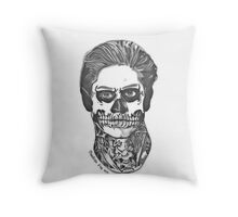 Pandora Fox Art Evan Peters as Tate from AHS Murder House! :D  Throw Pillow