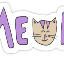 MEOW - Tumblr Sticker