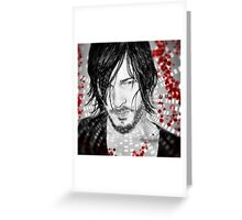 Walking Daryl Greeting Card