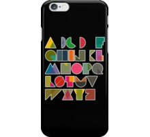 ABC alphabet FOR KIDS iPhone Case/Skin