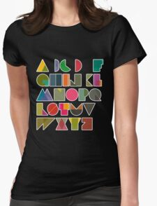 ABC alphabet FOR KIDS Womens Fitted T-Shirt