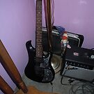 This is my church guitar by James Gibbs
