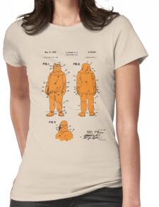 Fire Fighter Suit Patent - Colour Womens Fitted T-Shirt