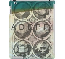 Return Black. iPad Case/Skin