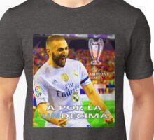 KARIM BENZEMA, A POR LA UNDECIMA, MADRID Unisex T-Shirt