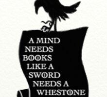 Game of thrones messenger raven: books Sticker