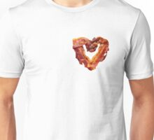 Bacon Heart Unisex T-Shirt