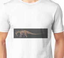Amargasaurus Skeletal Study (No Labels) Unisex T-Shirt