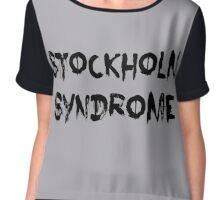 Stockholm Syndrome Chiffon Top