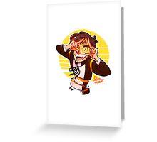 Bipper Greeting Card
