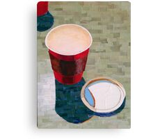 """""""Empty cup"""" Canvas Print"""