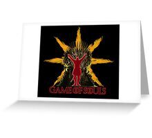 Game of Souls Greeting Card