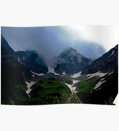 Smoky Rocky Mountains Poster