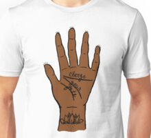 Change Your Fate - Brown Hand Unisex T-Shirt