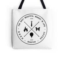 The Most Beautiful Moment In Life - Black on White Tote Bag