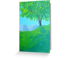 Tree Color Greeting Card