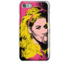 Marina pop art edit iPhone Case/Skin
