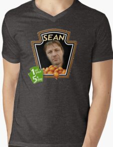 Heinz Sean Bean Mens V-Neck T-Shirt