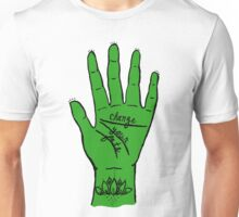 Change Your Fate - Green Hand Unisex T-Shirt