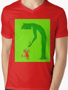 The Giving Groot Mens V-Neck T-Shirt