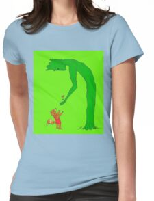 The Giving Groot Womens Fitted T-Shirt