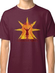 Game of Souls-flame Classic T-Shirt