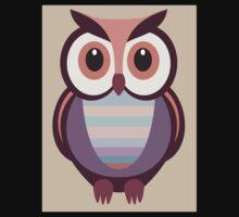 WIDE EYED OWL One Piece - Short Sleeve
